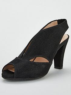 812340099b61 Carvela Arabella Suede Heeled Sandals - Black