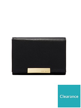 05ff93540b2 Ted Baker Rana Textured Mini Purse - Black | littlewoodsireland.ie