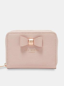 ted-baker-ted-baker-aureole-textured-small-zip-purse
