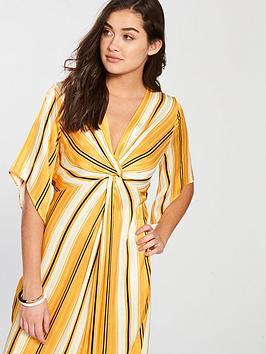 Midi  Printed Yellow Island River Dress CutPrice j8yvS
