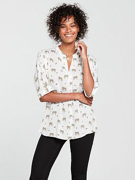 river-island-river-island-tiger-print-twist-back-blouse