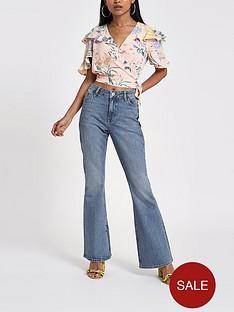 ri-petite-marnie-flare-jeans-blue