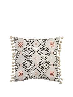 ideal-home-aztec-tassel-cushion