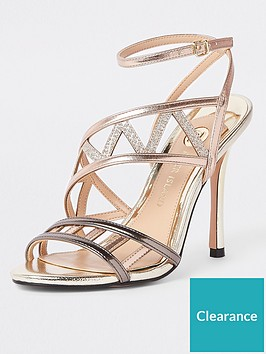 river-island-metallic-skinny-heel-sandal
