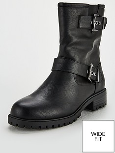 v-by-very-wide-fit-sicily-biker-boot-black