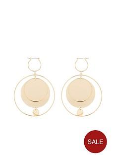 v-by-very-amalie-layered-disc-hoop-earrings