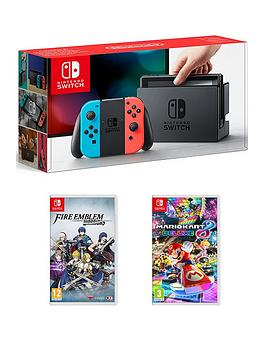 nintendo-switch-console-with-mario-kart-8-and-fire-emblem-warriors