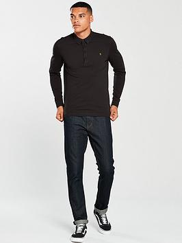 Free Shipping Pictures Merriweather Polo Sleeve Long Farah Under 50 Dollars Where To Buy Low Price Official Outlet Cheap Online 4I14tF