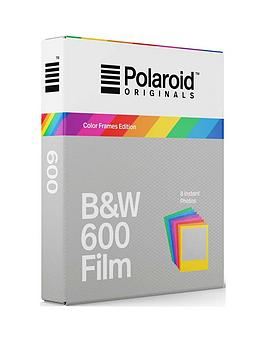 polaroid-originals-instant-black-and-white-film-with-colour-frames-compatible-with-all-polaroid-600-cameras-and-i-type-colour-frames-pack-of-8