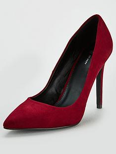 v-by-very-chick-high-point-court-shoe-burgundy
