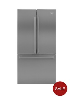 beko-gn1306211zdx-91cmnbspwide-total-no-frost-3-door-american-style-fridge-freezer-stainless-steel