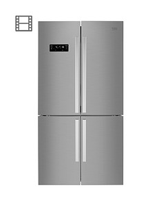 beko-mn1416224px-91cmnbspwide-total-no-frost-4-door-american-fridge-freezer-brushed-steel