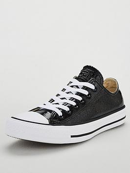 Converse Chuck Taylor All Star Glitter Ox - Black ... e6143b1b1