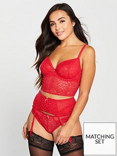 freya-soiree-lace-suspender-red
