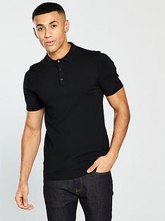 v-by-very-short-sleeved-knitted-polo