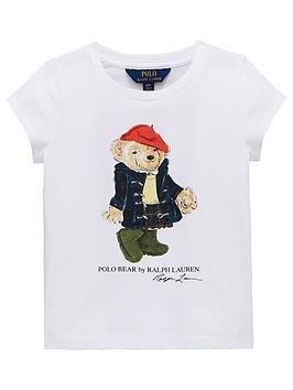 ralph-lauren-girls-short-sleeve-bear-t-shirt-white