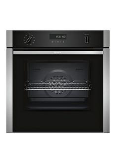 neff-b6ach7hn0b-60cm-built-in-slideamphidereg-single-oven-with-circothermreg-stainless-steel