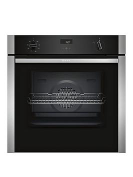 neff-b4acf1an0bnbsp60cm-built-in-slideamphidereg-electric-single-oven-with-circothermreg-stainless-steel