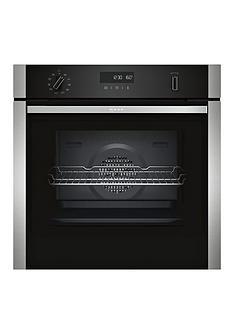 neff-b2ach7hn0bnbsp60cm-built-in-single-oven-with-circothermreg-stainless-steel