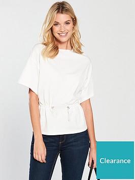 v-by-very-drawstring-waist-top-white
