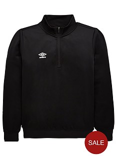 umbro-youth-training-half-zip-top