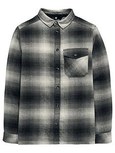 v-by-very-boys-brushed-checked-long-sleeve-shirt-grey