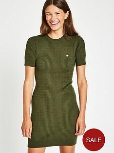 jack-wills-danesfort-cable-knit-dress-olive