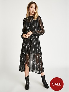 jack-wills-coston-printed-hanky-hem-dress-black