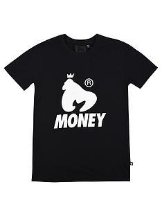 money-boys-black-label-logo-short-sleeve-t-shirt