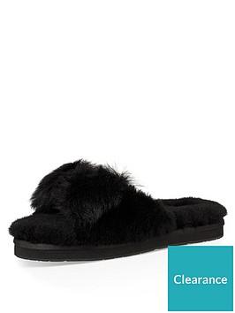848a1518e31 Mirabelle Mule Slippers - Black
