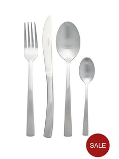 ideal-home-matt-silver-16-piece-cutlery-set