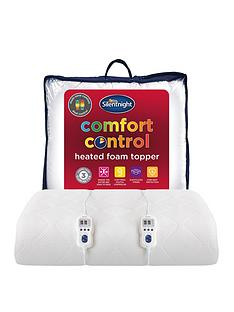 silentnight-heated-memory-foam-25cm-mattress-topper