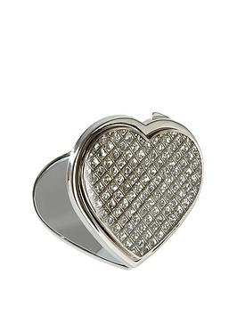 personalised-diamante-heart-compact-mirror