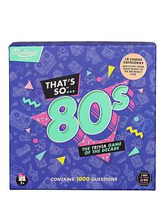 ridleys-thats-so-80s-quiz