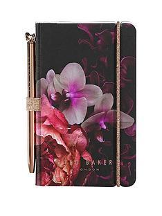 c630652c6 Ted Baker Black Splendour Mini Notebook And Pen