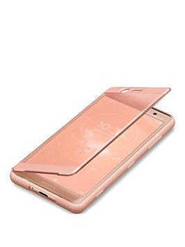 sony-sony-original-touch-style-cover-protective-case-for-xperia-xz2-compact-pink