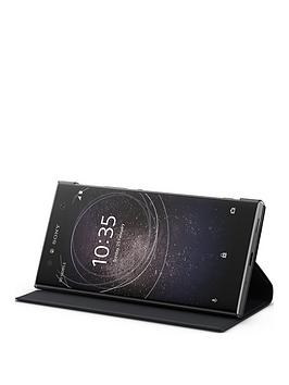 sony-sony-original-ultra-style-stand-protective-cover-for-xperia-xa2--black