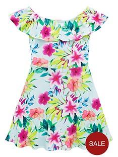 v-by-very-girls-mint-floral-bardot-dress