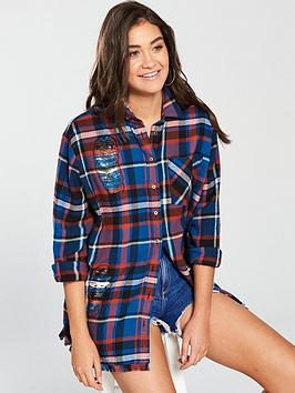 Eastbay For Sale Free Shipping How Much Shirt Embroidered Island Check River 2018 New Outlet 100 Original jEcrPo