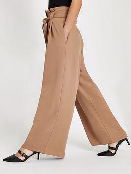 Wide Trousers RI  Leg Petite Camel Cheap Sale Eastbay Genuine With Mastercard Cheap Online Outlet Best Seller Lowest Price XJs3Hdh7X