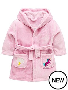 mini-v-by-very-girls-rainbow-back-unicorn-amp-lightning-hooded-robe-pink