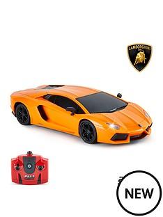 124-scalelamborghini-aventador-lp-700-4-orange-24ghz-remote-control-car