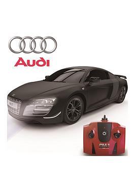 Scale Audi R Gt Limited Edition Black Ghz Remote Control - Audi remote control car