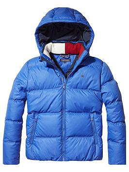 tommy-hilfiger-boys-padded-down-hooded-jacket-blue