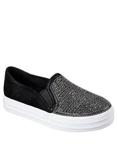 skechers-double-up-shiny-dancer-plimsoll