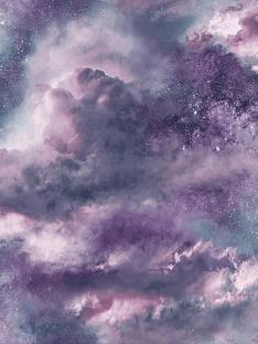 arthouse-diamond-galaxy-purple-wallpaper