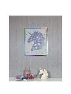arthouse-unicorn-framed-print