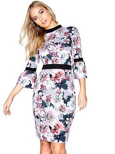 paper-dolls-high-neck-floral-print-flute-sleeve-dress-floral-print