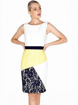 paper-dolls-sleeveless-multi-panel-lace-dress-multi