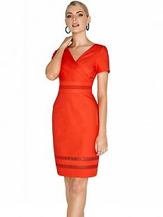 paper-dolls-wrap-pencil-midi-dress-orange